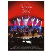 Dvd e Cd Orquestra Unasp-sp Convida - Gravadora Novo Tempo
