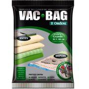 Embalagem Vac Bag 80 x 100 Saco para Armazenagem Impermeavel Extra Grande
