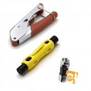 Kit Alicate Crimpar H518a1 Decapar Hy-323 Rg6 Rg59 + 200 RG6