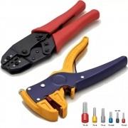 Kit Alicate e decapador terminal Tubular 1 a 10 mm descrição