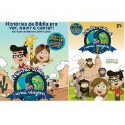 Kit CD + DVD Minha Vida é Uma Viagem Volume 1 e 2
