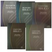 Kit Comentário Bíblico Adventista Logos Volumes 2, 4, 6, 8 e 9