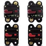 Kit de Disjuntor Automotivo 2 de 80a e 2 de 100a GC