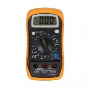 Multimetro Digital DT 858L LCD Medidor de Temperatura Polaridade Com Sensor GC