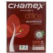 Papel Sulfite Carta Office 216 x 279mm 75g/m² Pacote 500 Folhas Chamex Branco