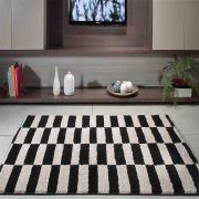 Tapete para Sala 100 x 150 cm Art Black e White Desenho 05 Oasis