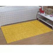 Tapete Passadeira 66 X 120 cm Classic Amarelo Canário