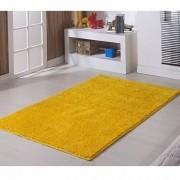 Tapete Quadrado 200 x 200 cm Classic Amarelo Canário Oasis