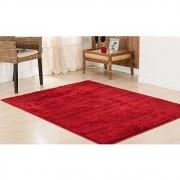 Tapete Sala 100 x 150 cm Classic Vermelho Cereja