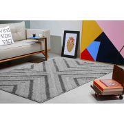 Tapete Sala Jazz 100 x 150 cm Alto e Baixo Relevo 03 Minerio