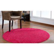 Tapete Sala Redondo 150m Classic Rosa Pink