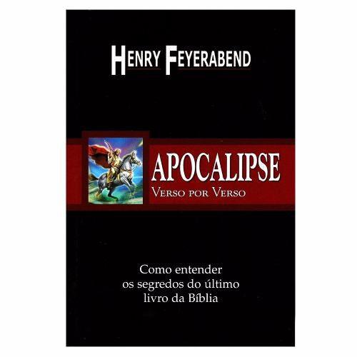 Livro Apocalipse Verso Por Verso
