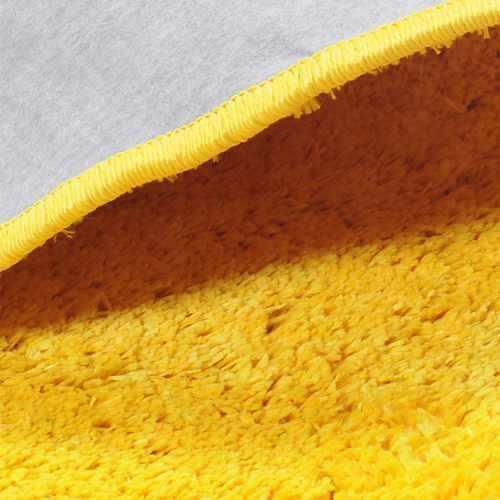 Tapete Passadeira Quarto Classic 50 cm x 2,00 m Amarelo Canario