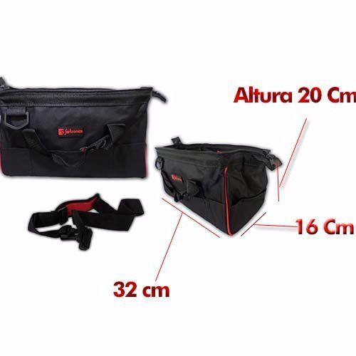Bolsa De Ferramenta 12,5'' Com 13 Compartimentos Fertronica