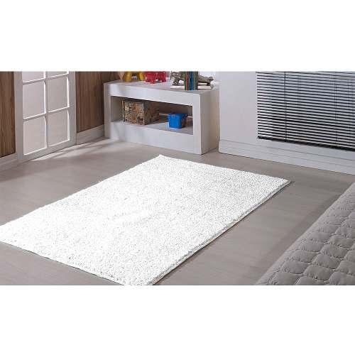 Tapete Sala 100 X 150 cm Classic Branco