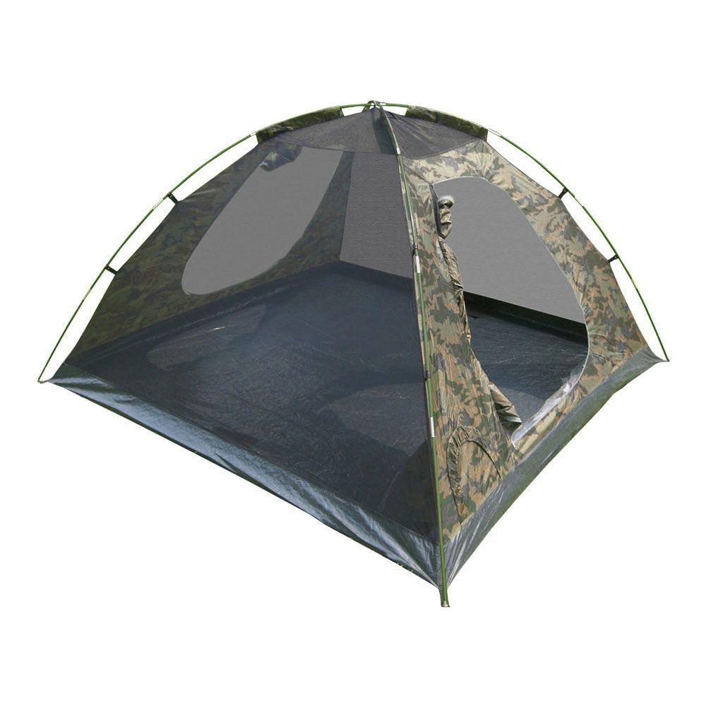 Barraca Iglu Camuflada 3 e 4 Pessoas Com Sobre teto Completo Amazon