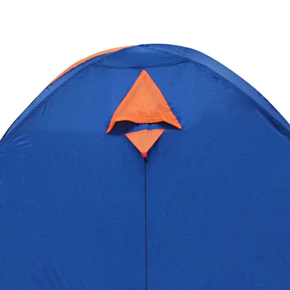 Barraca Iglu Falcon Sobreteto 4 Pessoas Nautika Azul Laranja