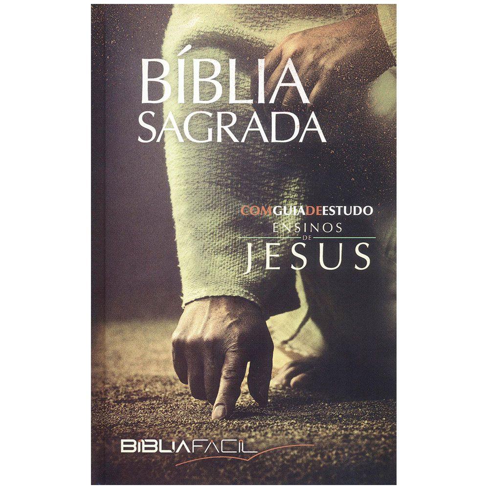 Biblia Fácil Ensinos de Jesus com Guia de Estudos CPB