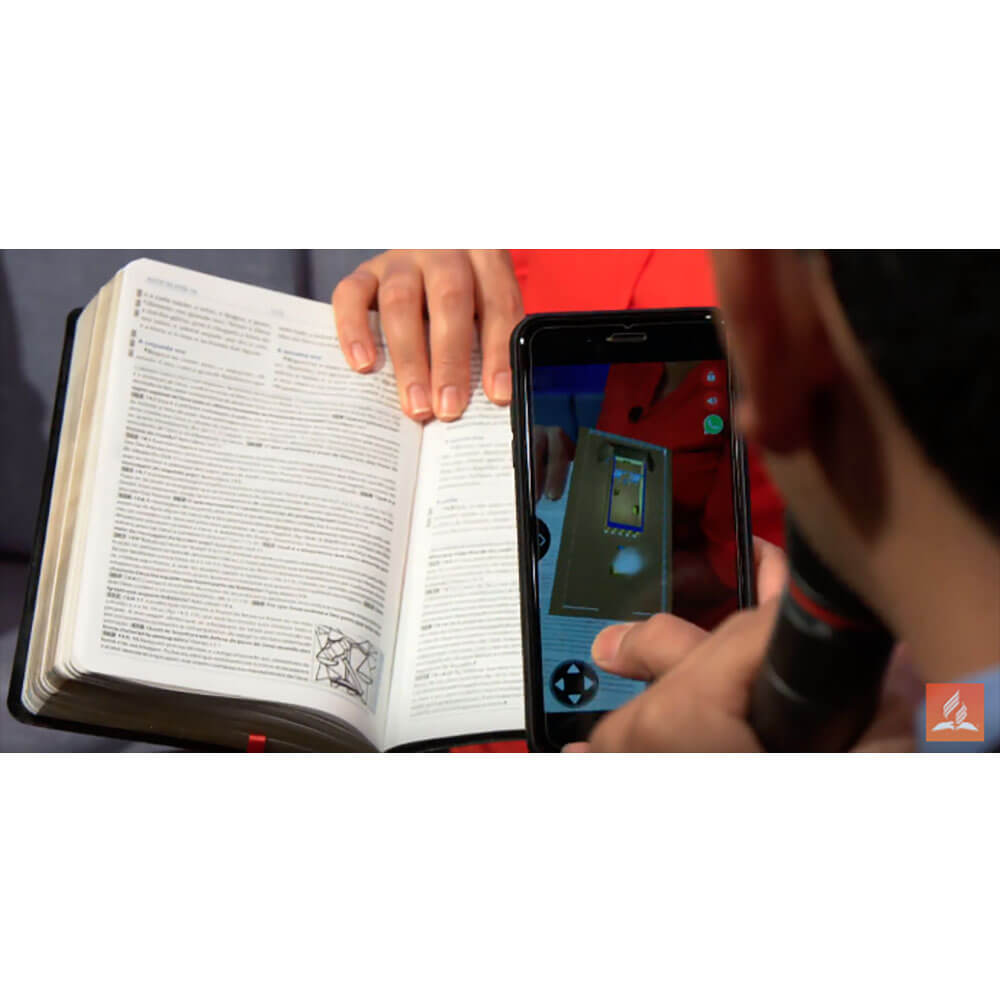 Bíblia Missionária 2019 Luxo Recouro Preto Qr Code Almeida RA