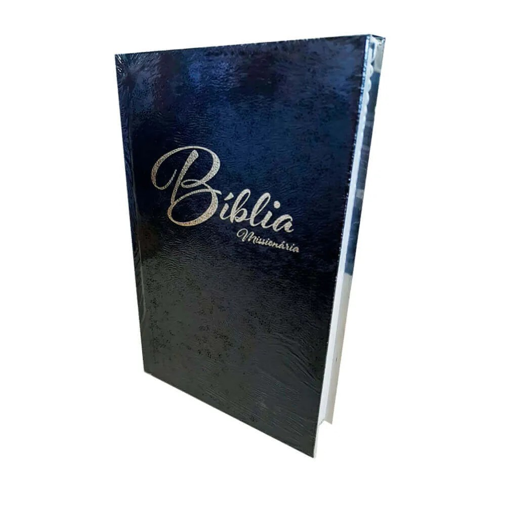 Bíblia Missionária 2019 Preto QR Code CPB Capa Dura