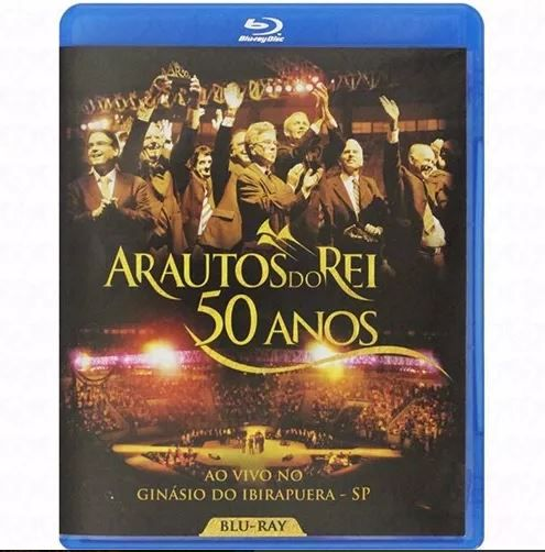 Blu-ray 50 Anos - Arautos Do Rei Ao Vivo Novo Tempo