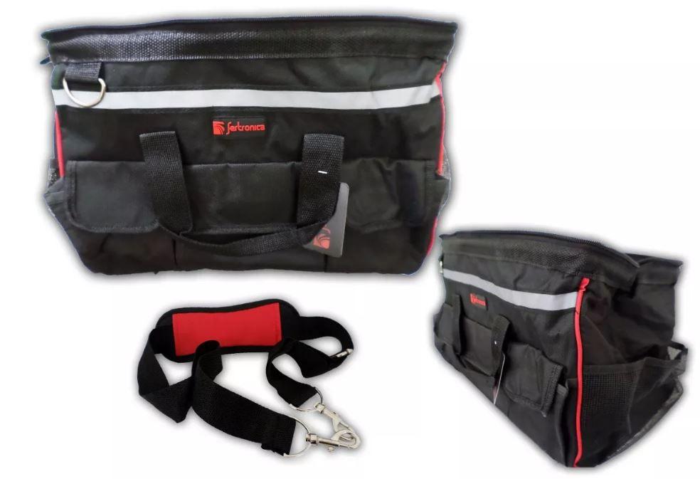 Bolsa De Ferramenta 15'' Com 19 Compartimentos Fertronica