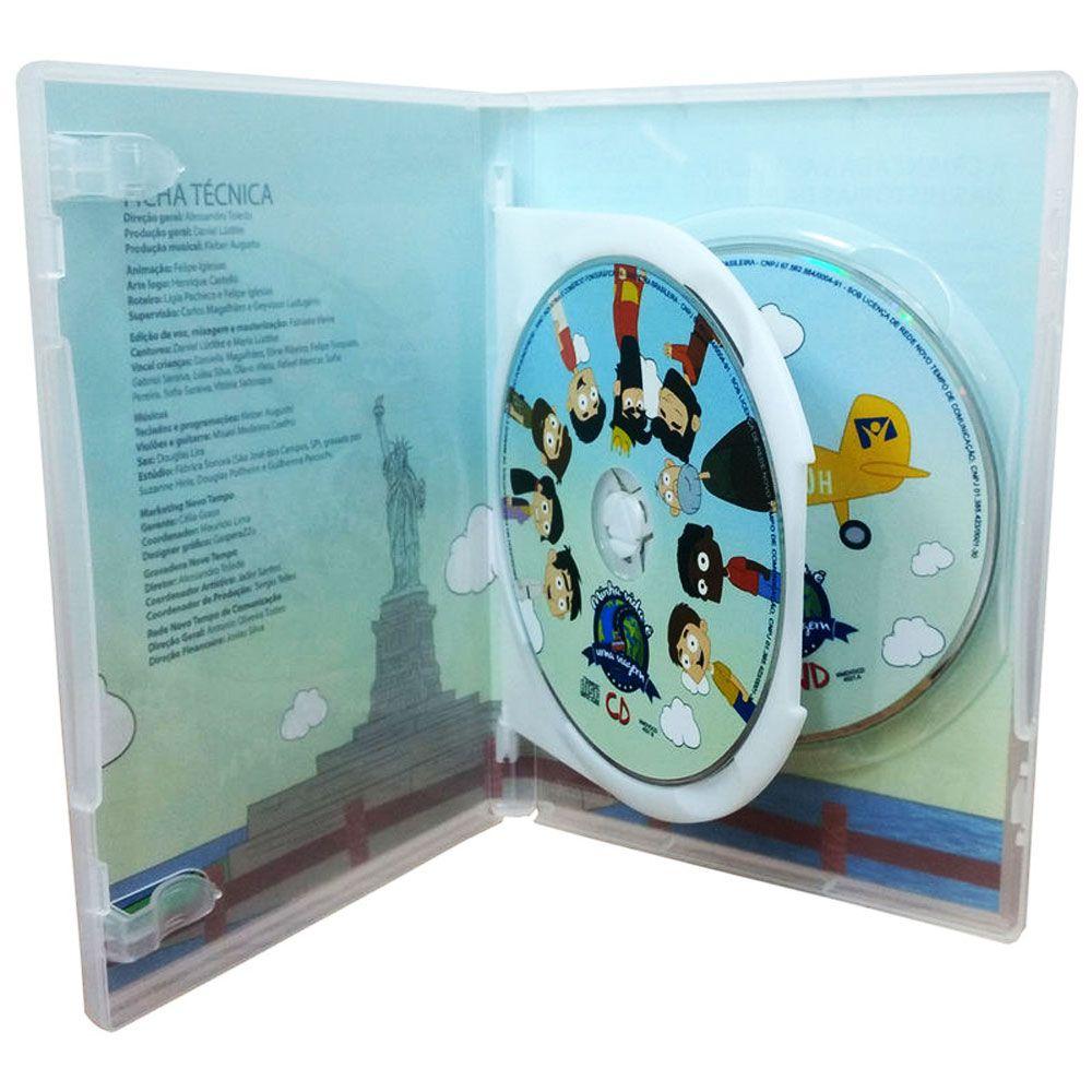 DVD e CD Minha Vida É Uma Viagem 1 Novo Tempo