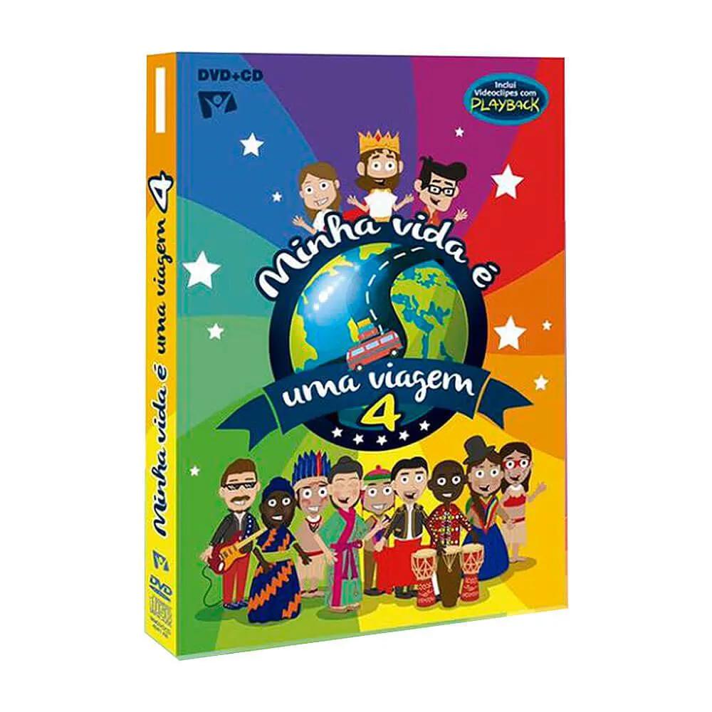 Box DVD e CD Minha Vida É Uma Viagem 4 Novo Tempo