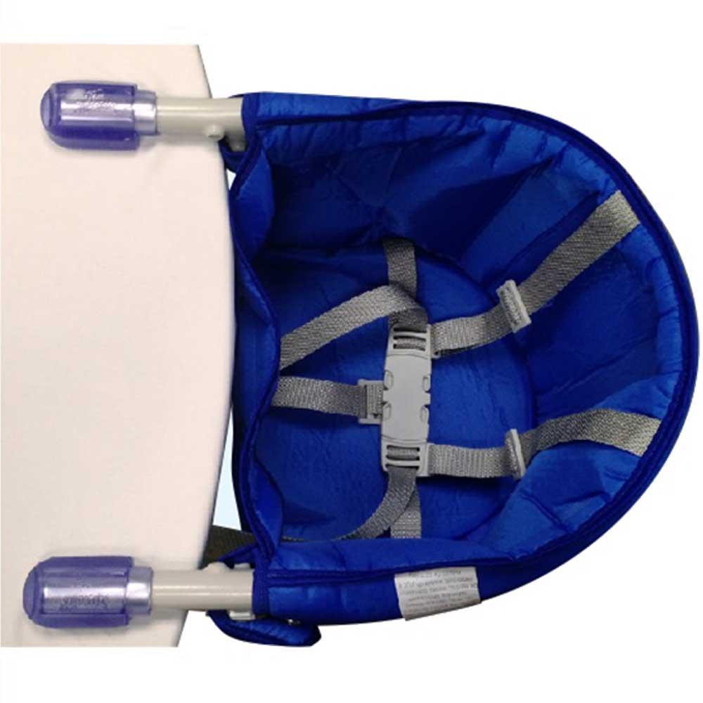 Cadeira Bebê Alimentação Suspensa Portátil Azul Sapeca Kids