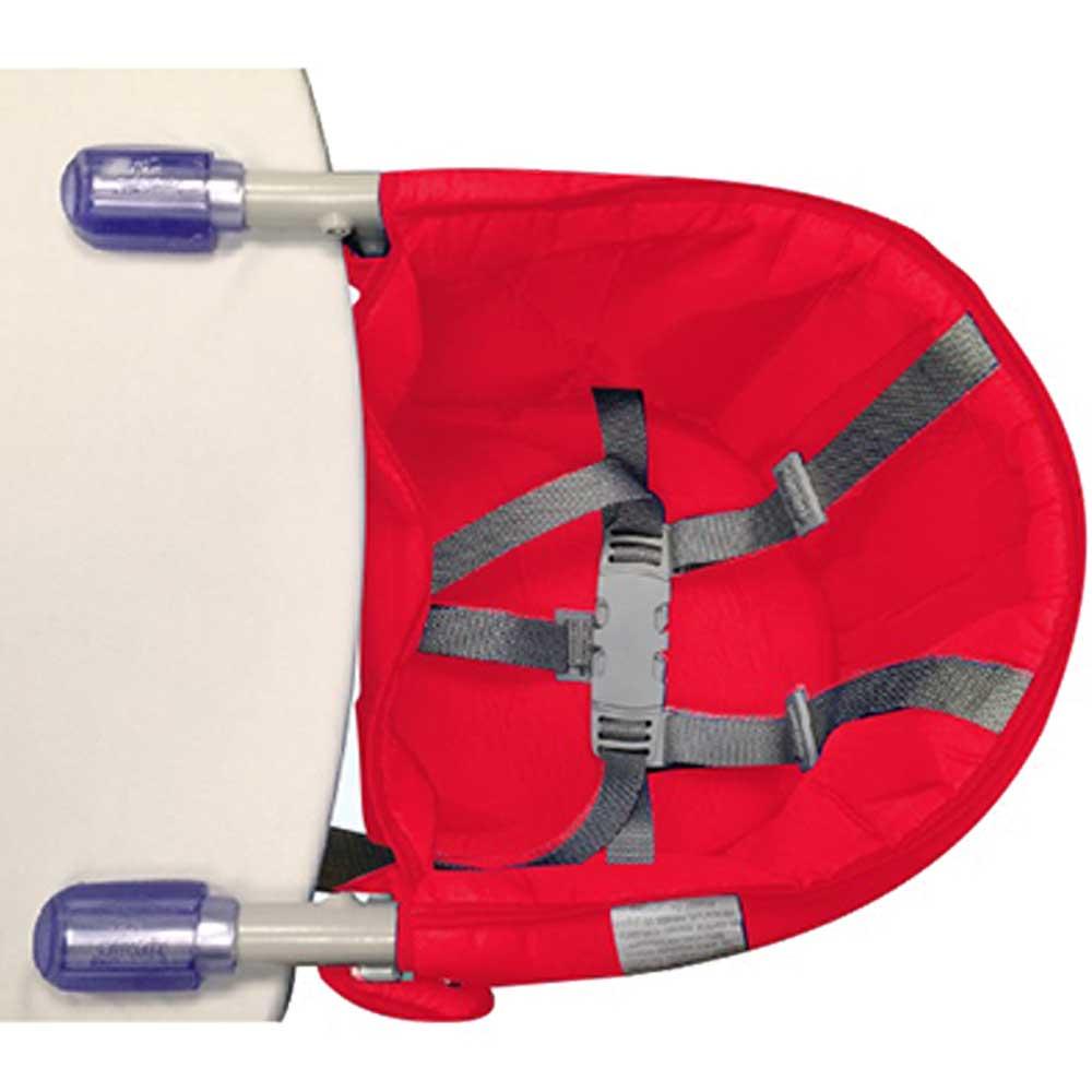 Cadeira Bebê Alimentação Suspensa Portátil Vermelha Sapeca Kids