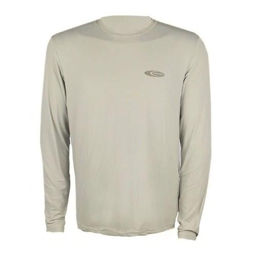 Camiseta Cardume Softline Proteção UVA e UVB 50 FPS Areia P ao G1