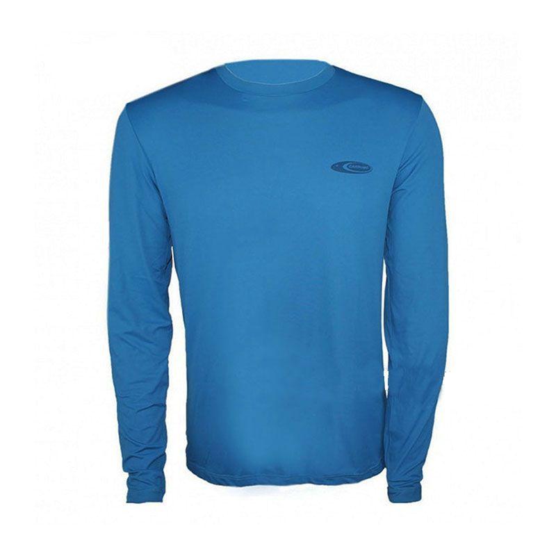 293729a03 Camiseta Cardume Softline Proteção UVA e UVB 50 FPS Azul P ao G1 - Cioni  Comercio
