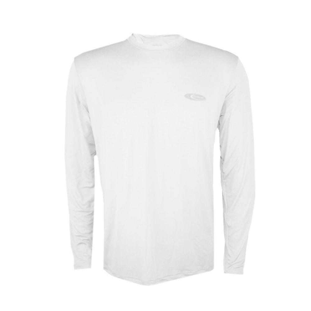 736540b9e Camiseta Cardume Softline Proteção UVA e UVB 50 FPS Branca GG - Cioni  Comercio ...