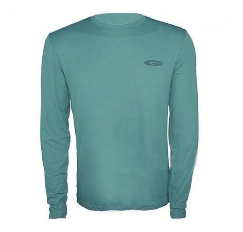 Camiseta Cardume Softline Proteção UVA e UVB 50 FPS Verde P ao GG
