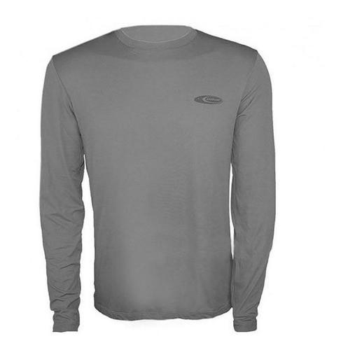 Camiseta Cardume Softline Proteção UVA UVB 50 FPS Chumbo P ao G1