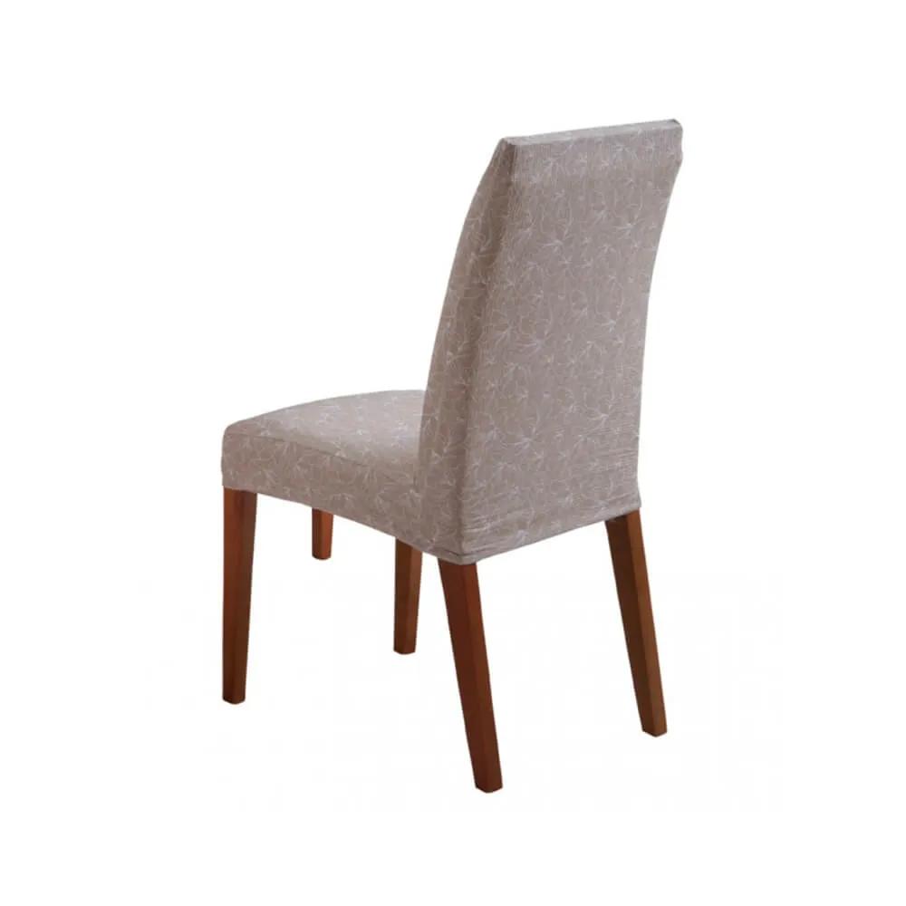 Capa de Cadeira Master Estampada Magnolia Sultan