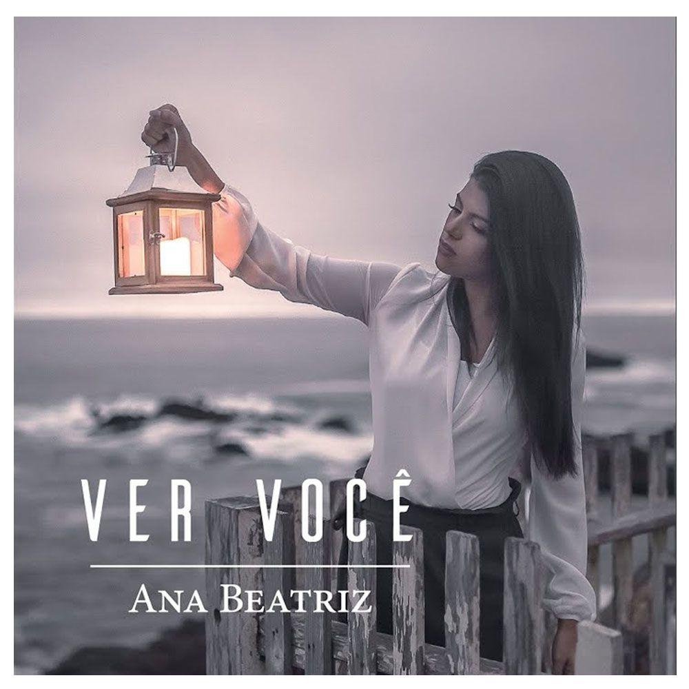 CD Duplo Ana Beatriz Ver Você com Playback - Novo Tempo