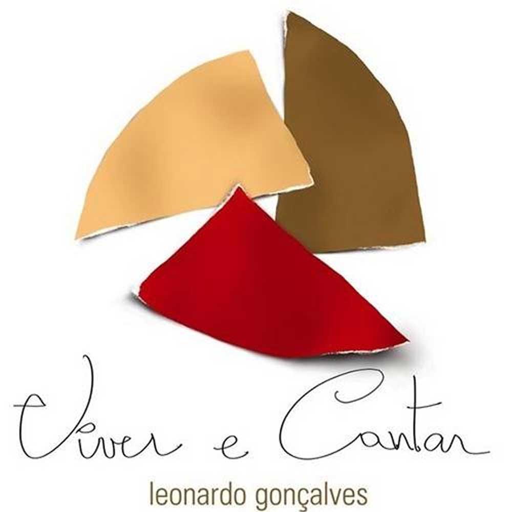 Cd Duplo Viver e Cantar com Playback Leonardo Gonçalves