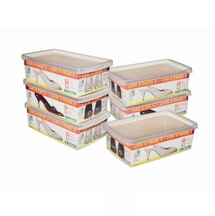 Conjunto Caixa De Sapato - Leve 6 E Pague 5 Ordene OR60250