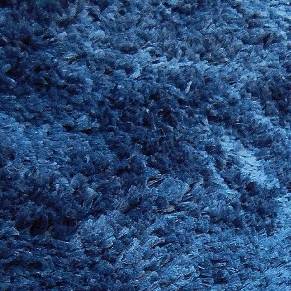 Conjunto de 2 Tapete Passadeira 66 x 120 Classic Azul Jeans