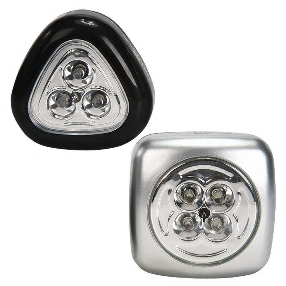 Conjunto Lanternas Multi-Fix Minilite Leds Nautika