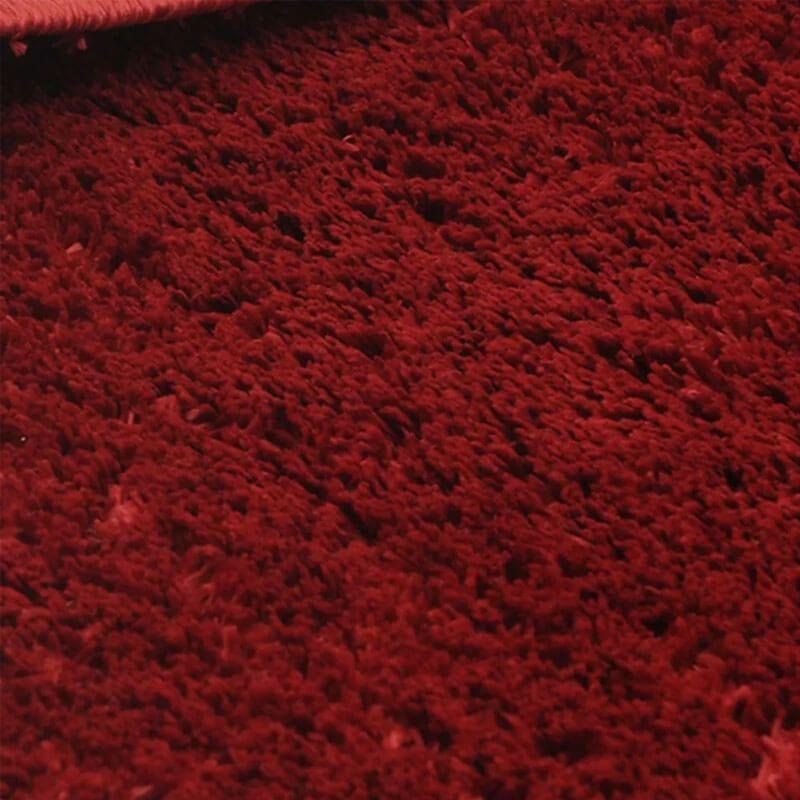 Tapete Passadeira  66 x 120 Classic Vermelho Cereja