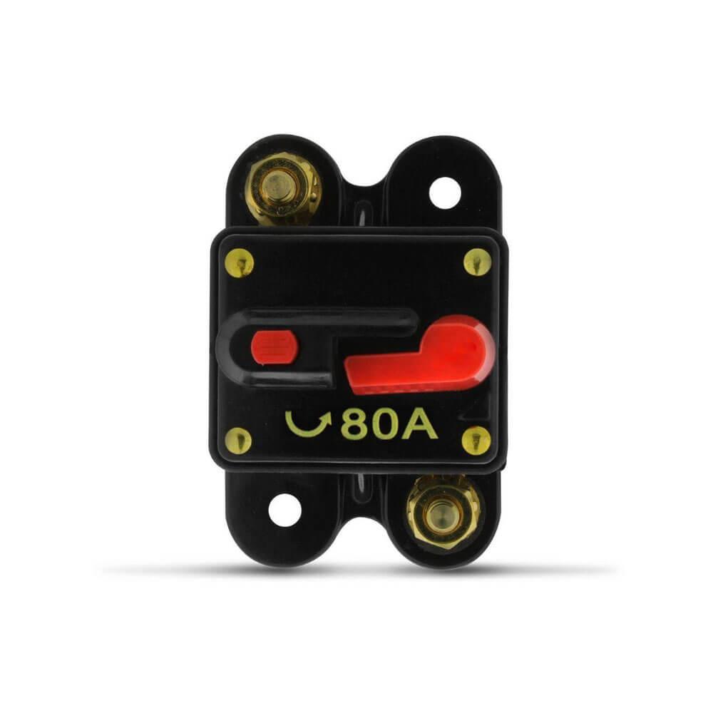 Disjuntor Som Automotivo de 80A