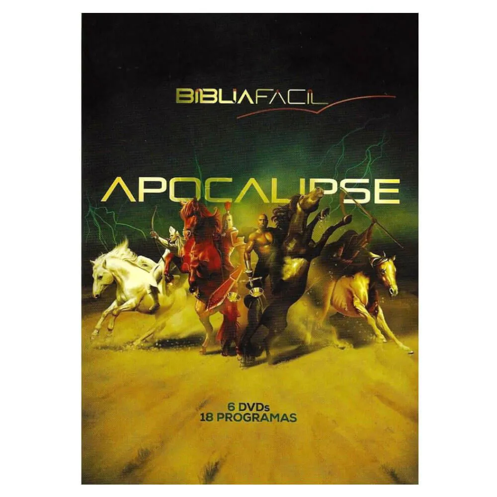 DVD Apocalipse Bíblia Fácil 6 DVDs Pr. Arilton Oliveira