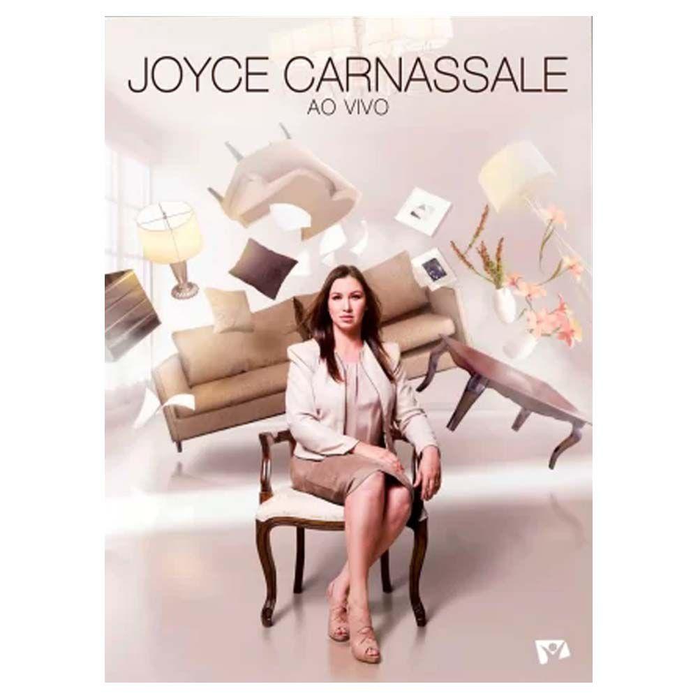 DVD e CD Joyce Carnassale Ao Vivo Gravadora Novo Tempo