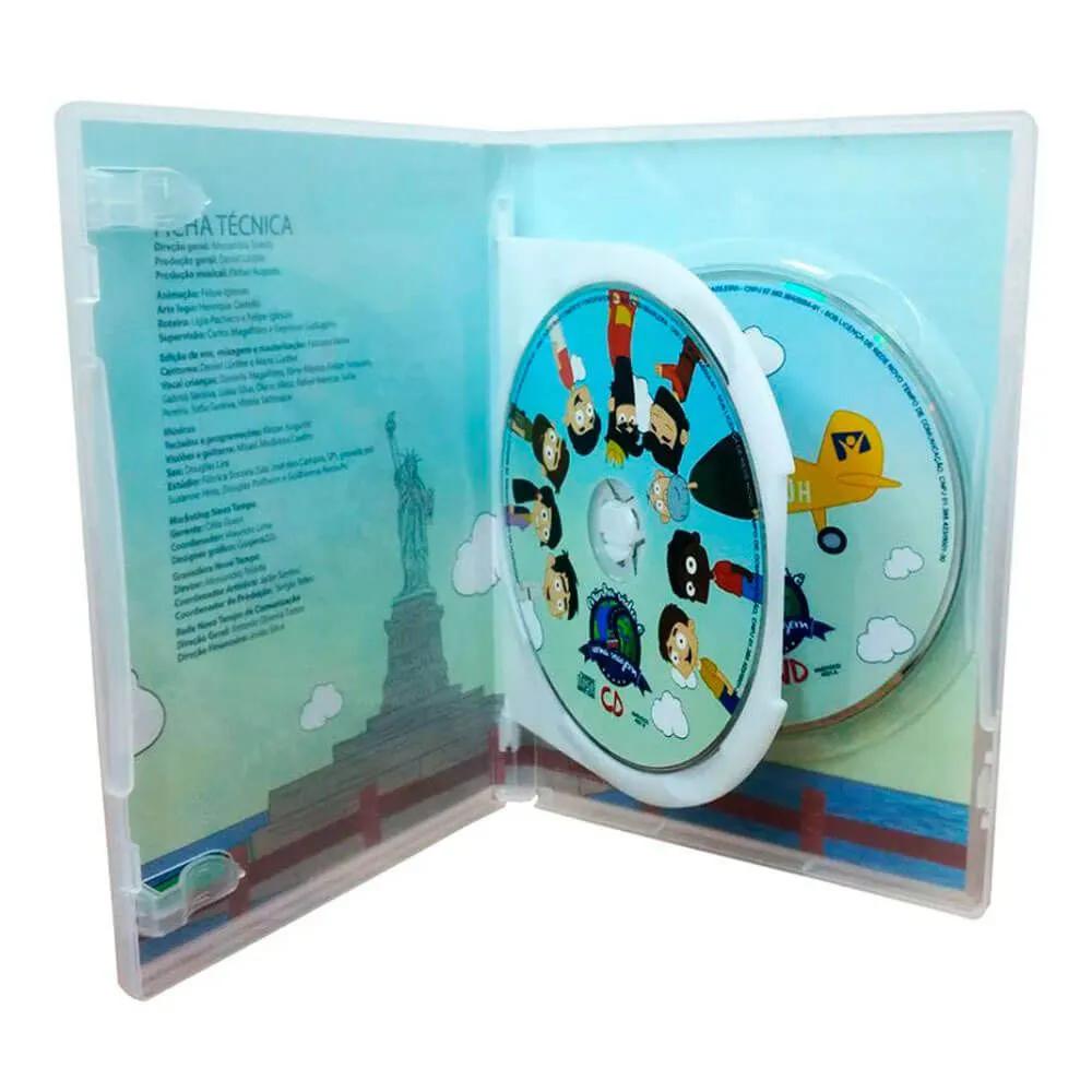 Box DVD e CD Minha Vida É Uma Viagem 1 Novo Tempo