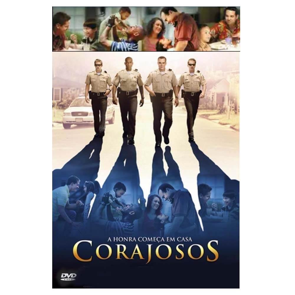DVD Filme Corajosos - A Honra Começa em Casa Edição Colecionador Fé Sony Picture