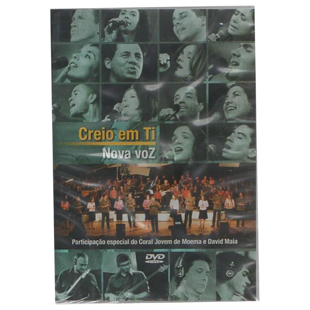 DVD Grupo Nova Voz - Creio em Ti Ao Vivo Gravadora Novo Tempo