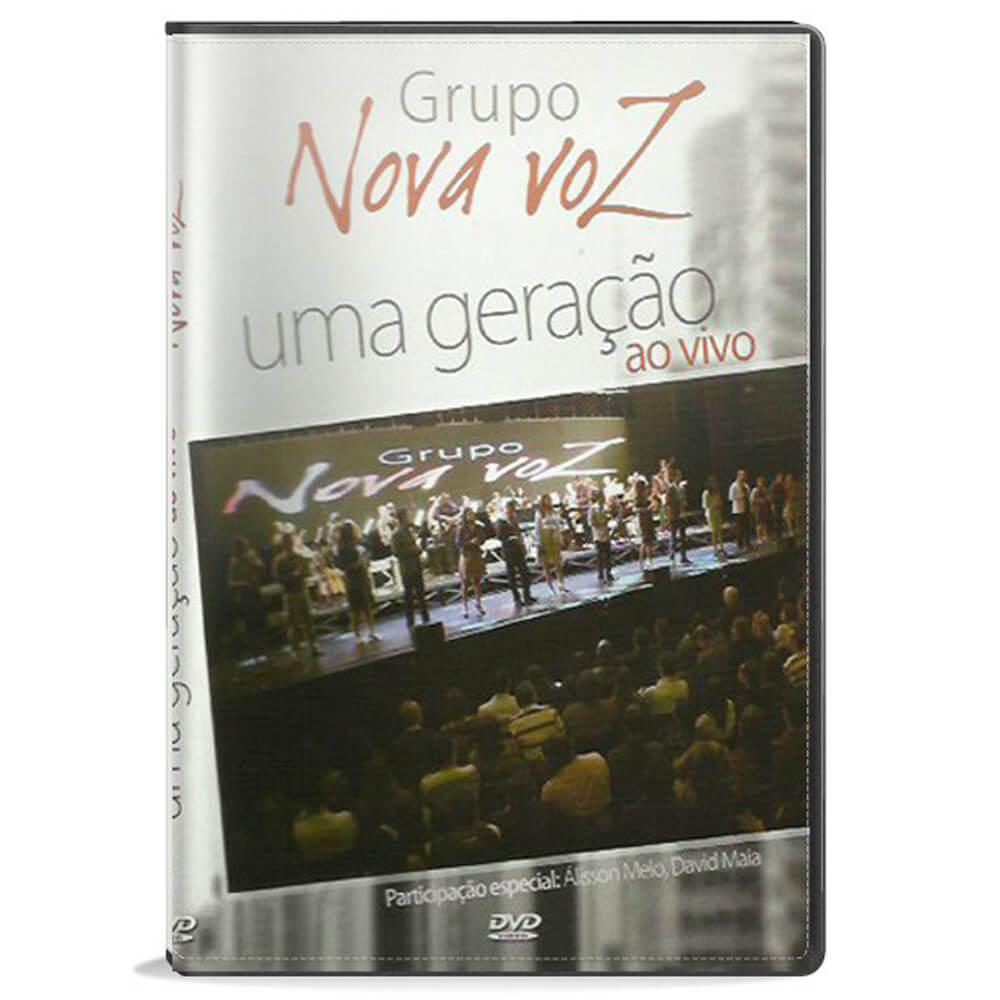DVD Grupo Nova Voz - Uma Geração Ao Vivo Gravadora Novo Tempo