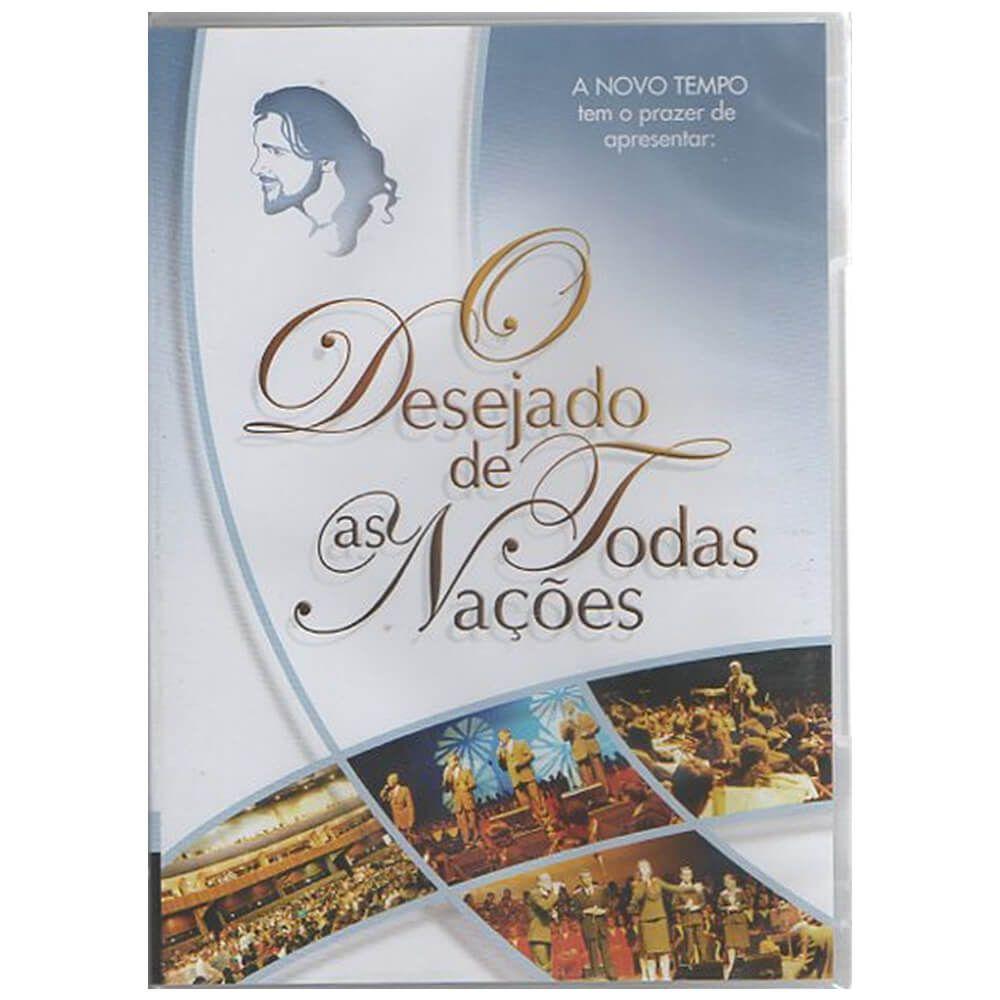 DVD Musical O Desejado de Todas as Nações Gravadora Novo Tempo
